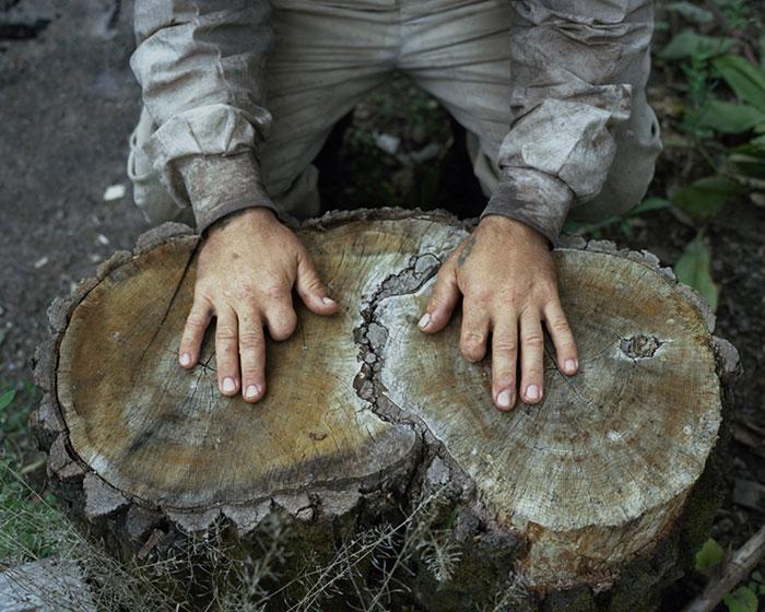 Отшельники в фотопроекте Данила Ткаченко «Побег»-12