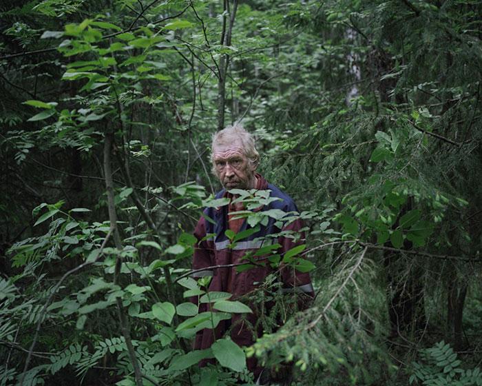 Отшельники в фотопроекте Данила Ткаченко «Побег»-1