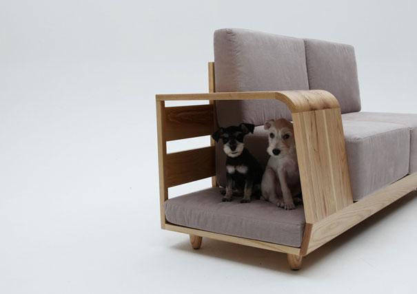 Собачья конура и диван-2