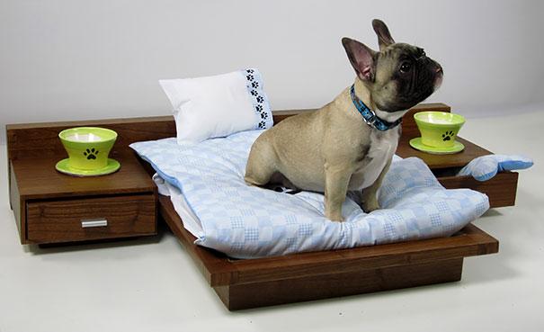 Роскошная кровать для собаки
