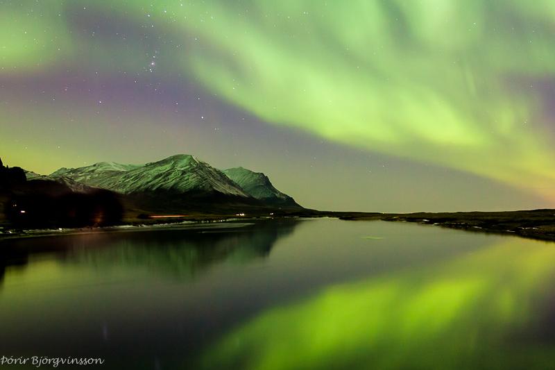 Зелёное отражение