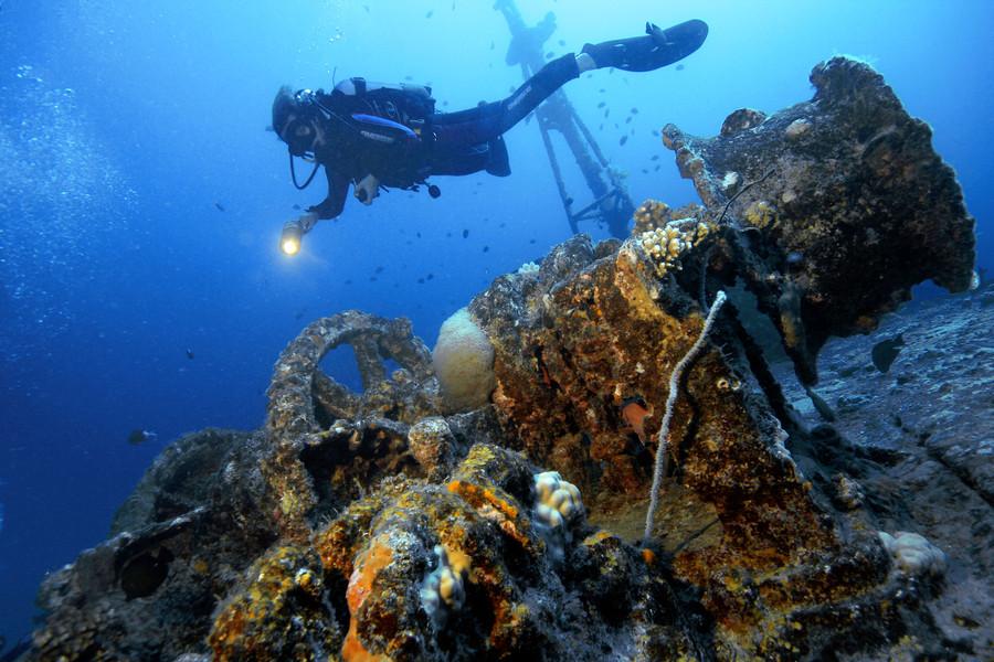 Фототехника для подводной съемки работу двигателя