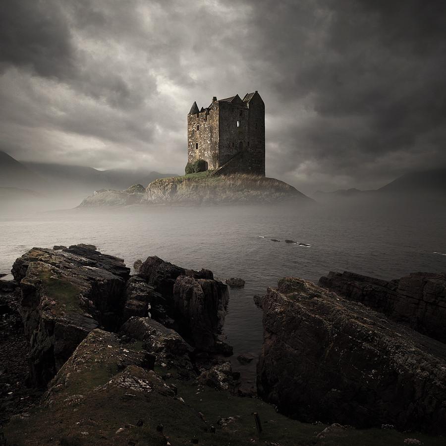Прибалтика замок фото заостренная