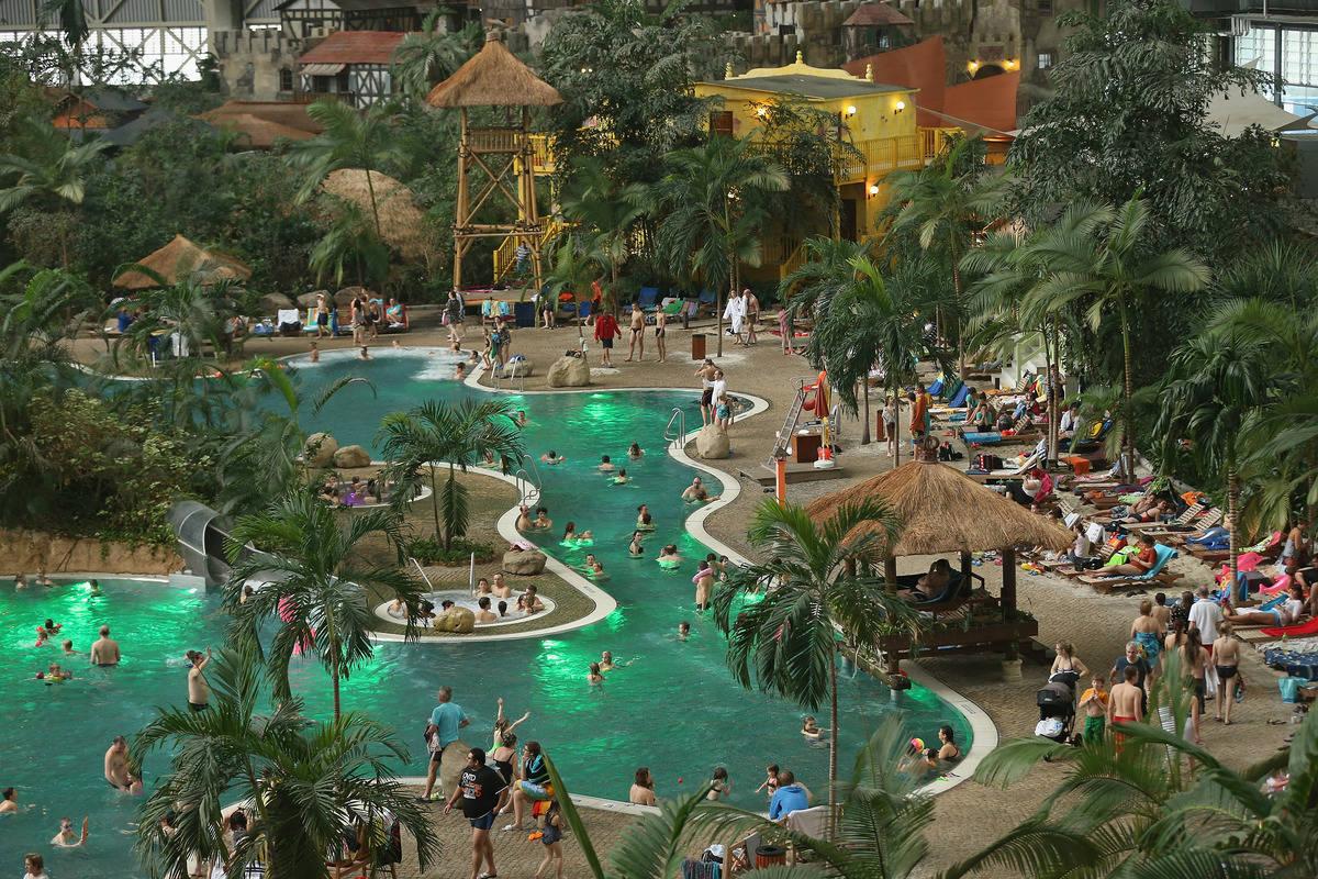 Тропический остров (Das Tropical Islands Resort), Германия
