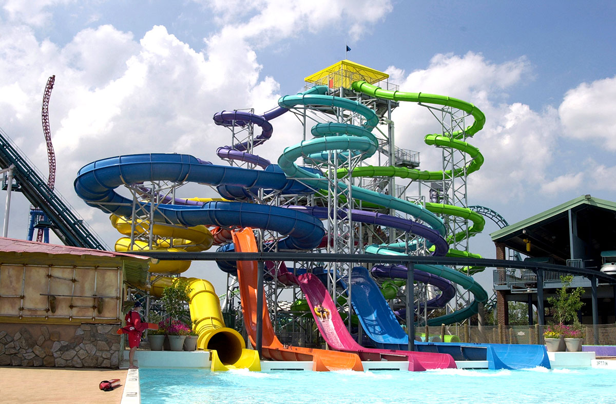 Wildwater Kingdom, город Аллентаун, Пенсильвания