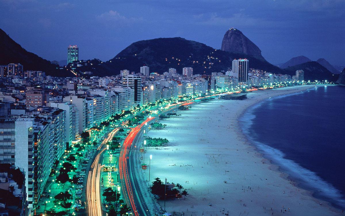 Копакабана - Рио-де-Жанейро, Бразилия