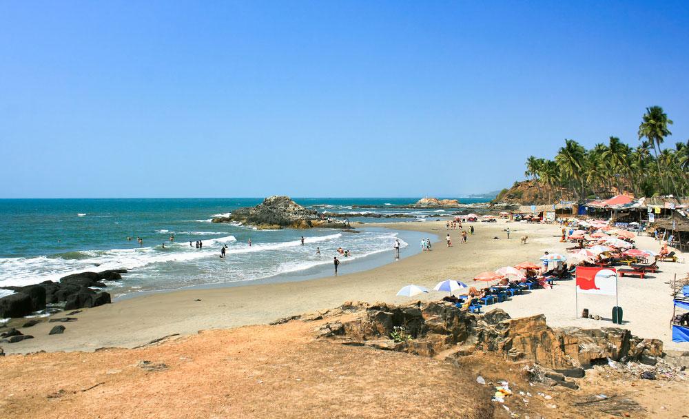 Пляж Агонда - Гоа, Индия