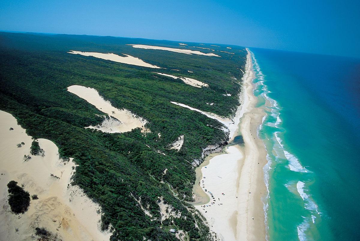 75-Майл-Бич - остров Фрейзер, Австралия