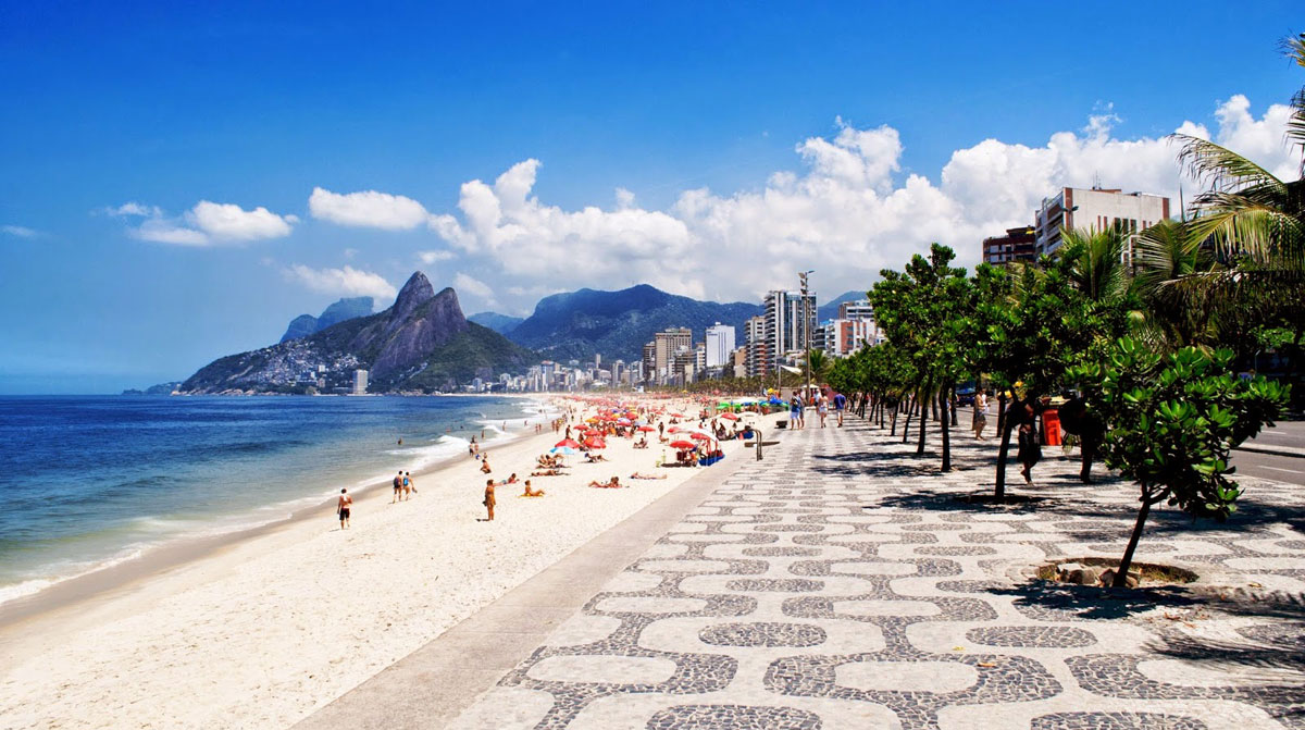 Ипанема - Рио-де-Жанейро, Бразилия