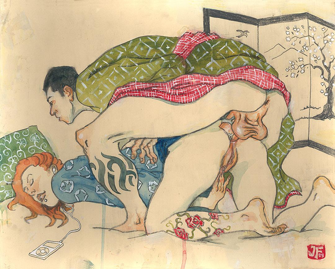 Старая японская эротика