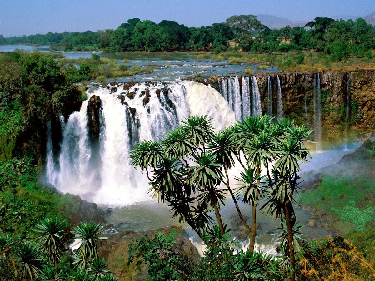 Водопады Голубого Нила (Тис-Аббай), Эфиопия