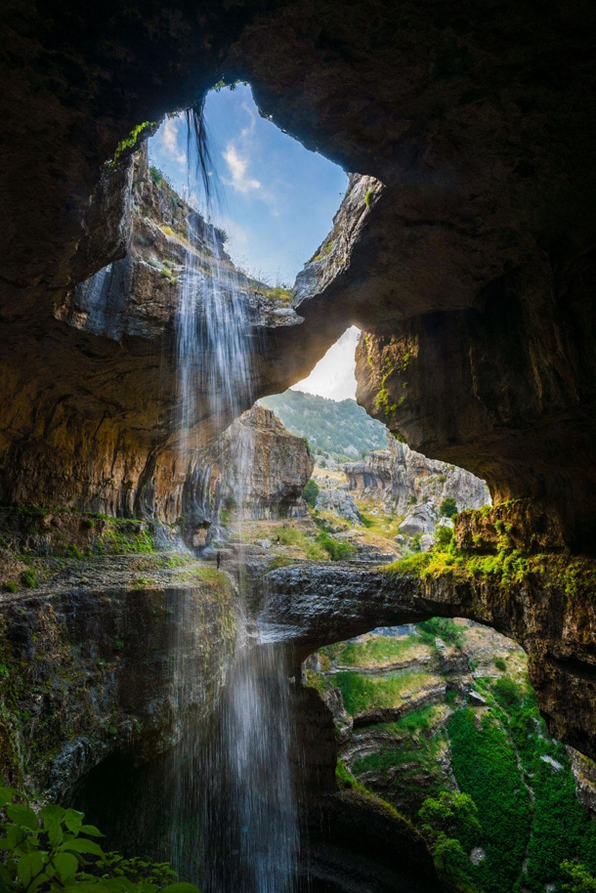 Ущелье Баатара, Ливан
