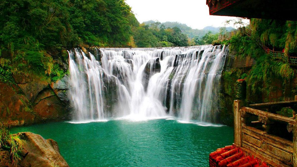 Водопад Шифен, Тайвань