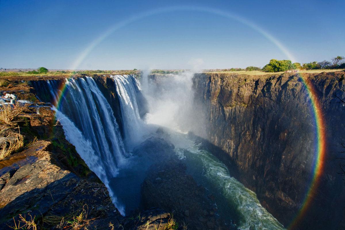 Водопад Виктория, Замбия и Зимбабве