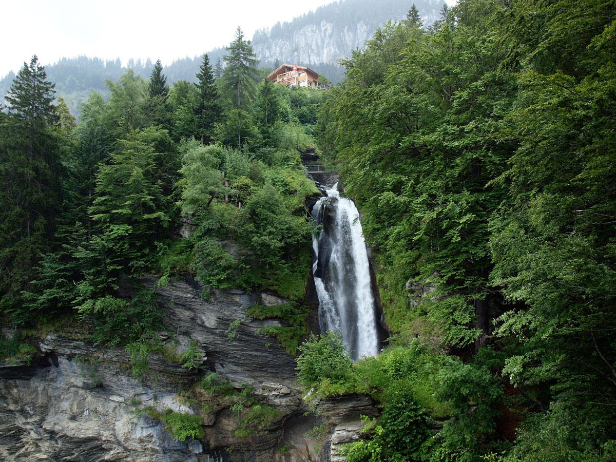 Водопад Райхенбах, Швейцария