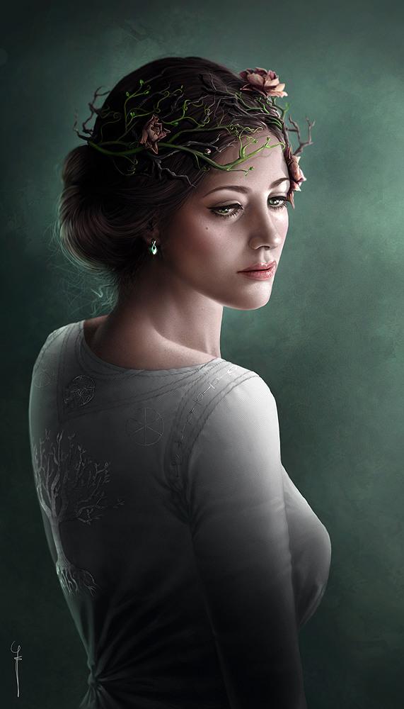 Картинные цифровые портреты от Gothic-Icecream