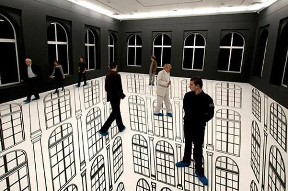 30 изображений с невероятными визуальными иллюзиями-44