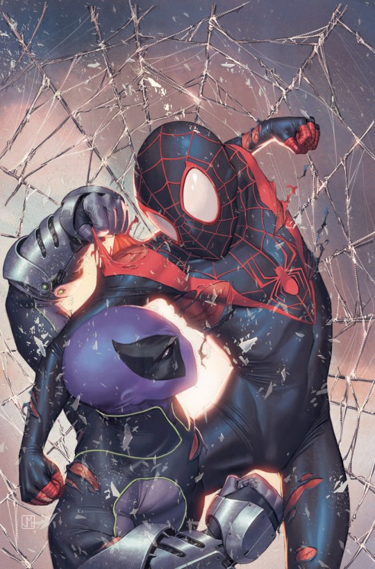 spidermen fight
