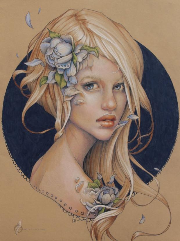 Талантливые портреты от Дженнифер Хили