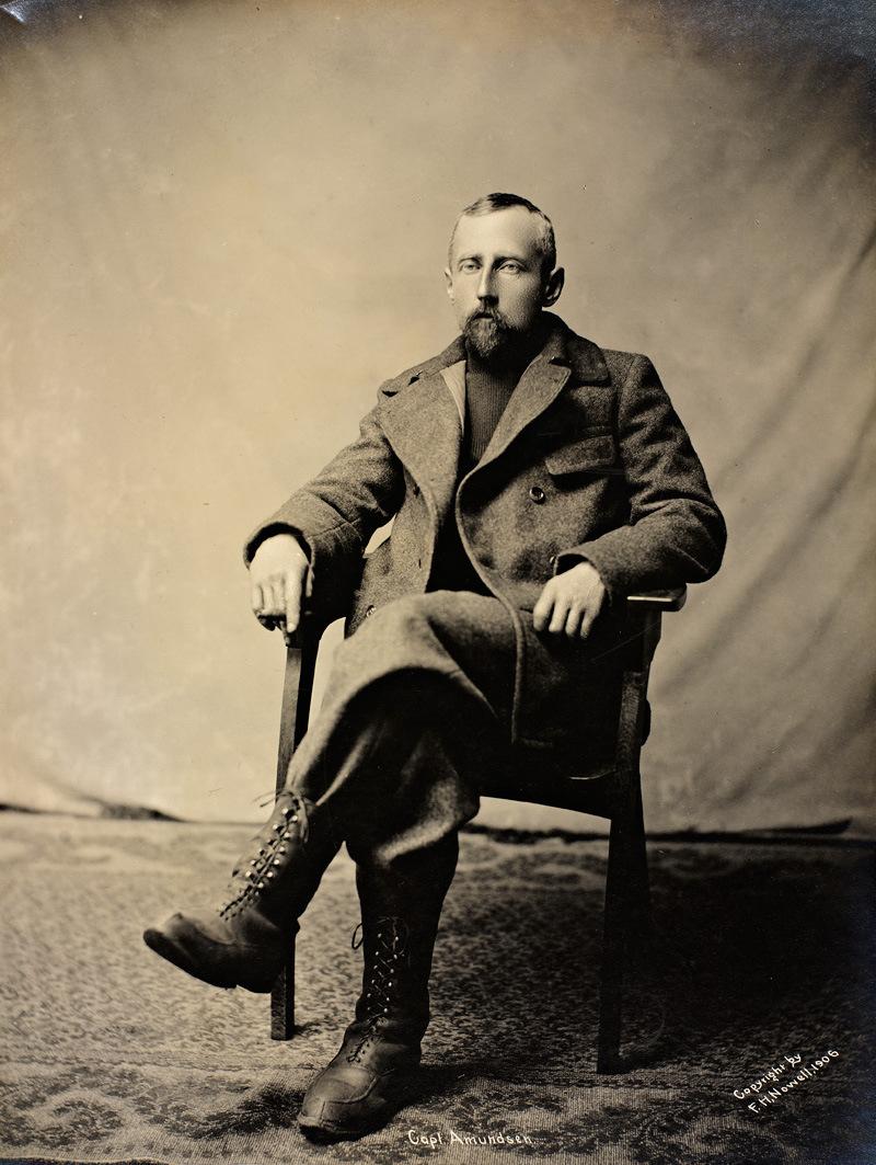 Портреты Руаль Амундсен (7)