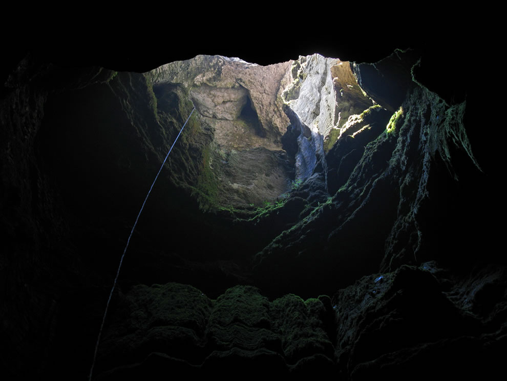 Cave on Mt. Ay-Petri, Krym