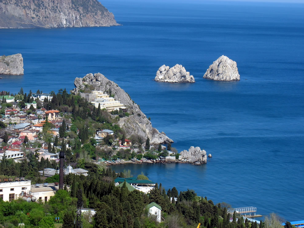 Adalary, island rocks off Krym