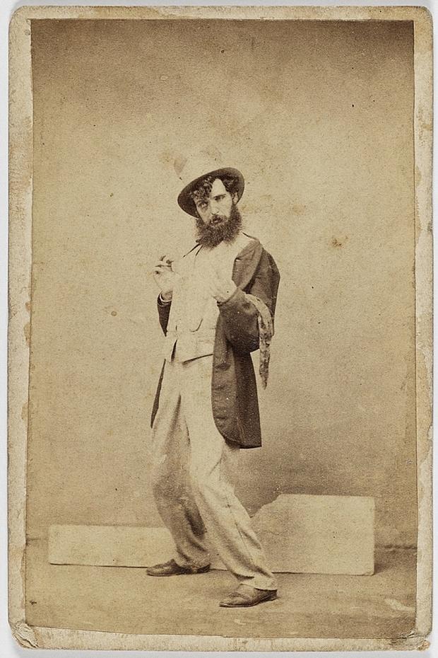 Пять стадий опьянения - веселые ретро фотографии 19-го века_2