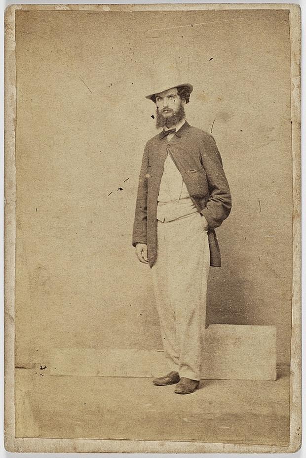 Пять стадий опьянения - веселые ретро фотографии 19-го века_1