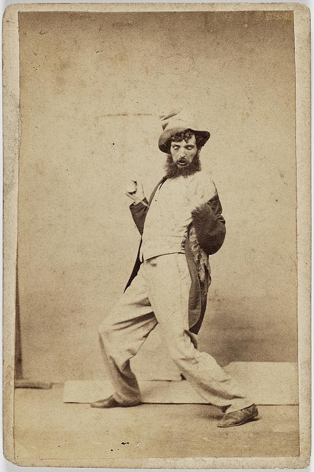 Пять стадий опьянения - веселые ретро фотографии 19-го века_3
