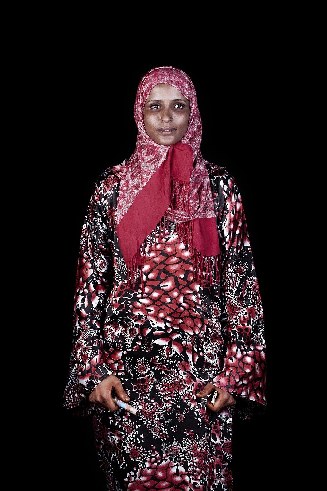 Марокканцы - портреты от Лейлы Алауи-07