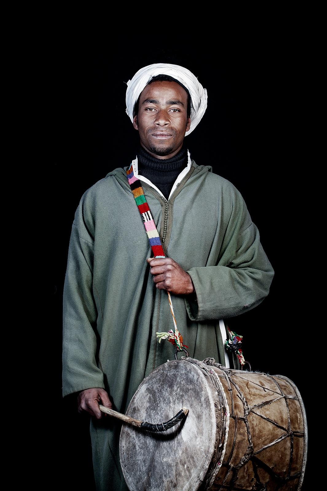 Марокканцы - портреты от Лейлы Алауи-11