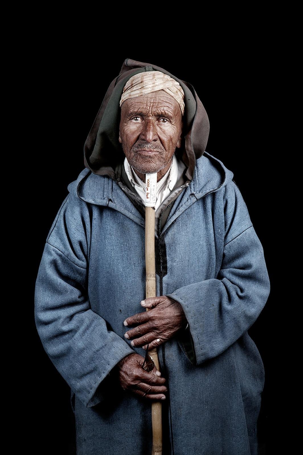 Марокканцы - портреты от Лейлы Алауи-04