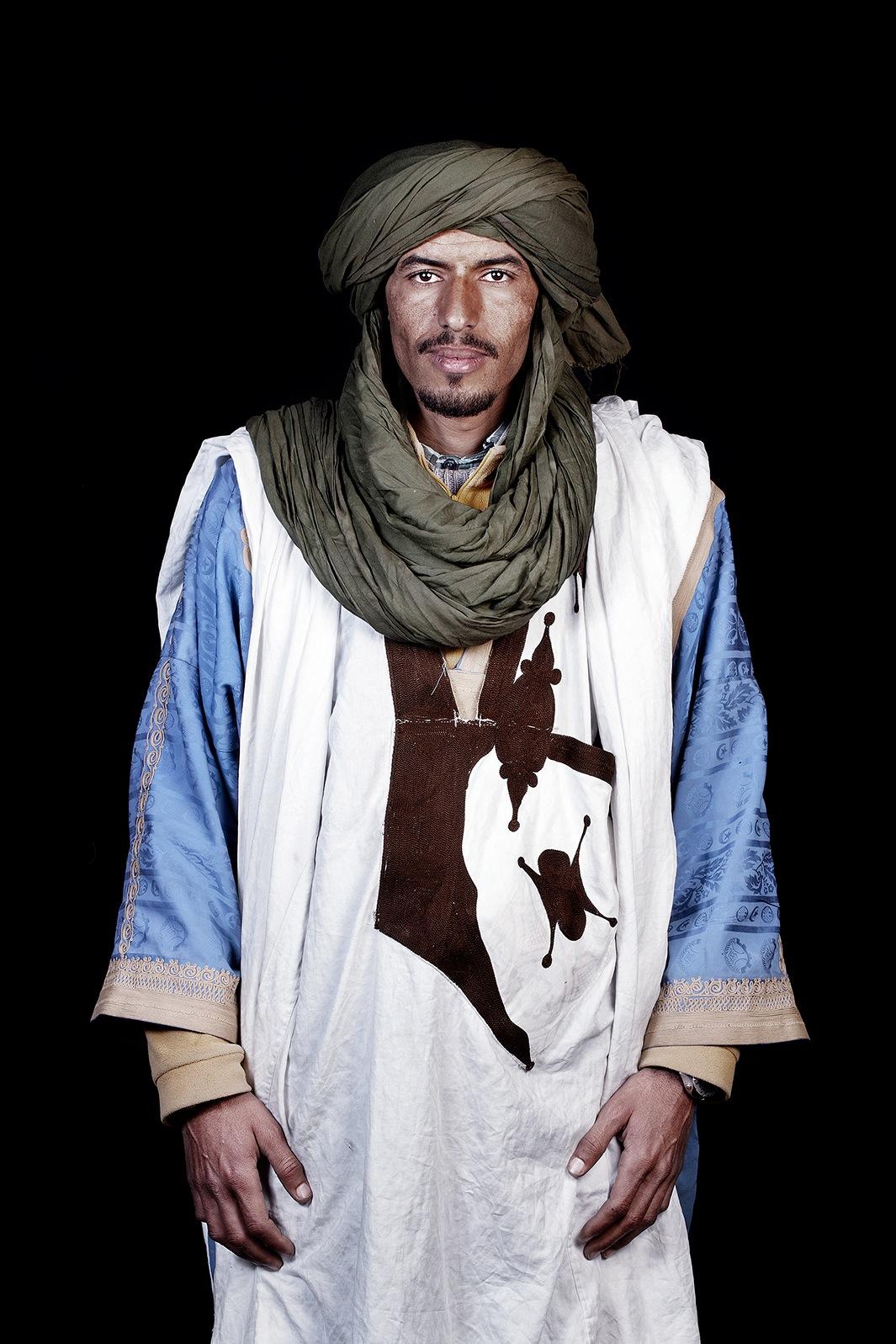 Марокканцы - портреты от Лейлы Алауи-09