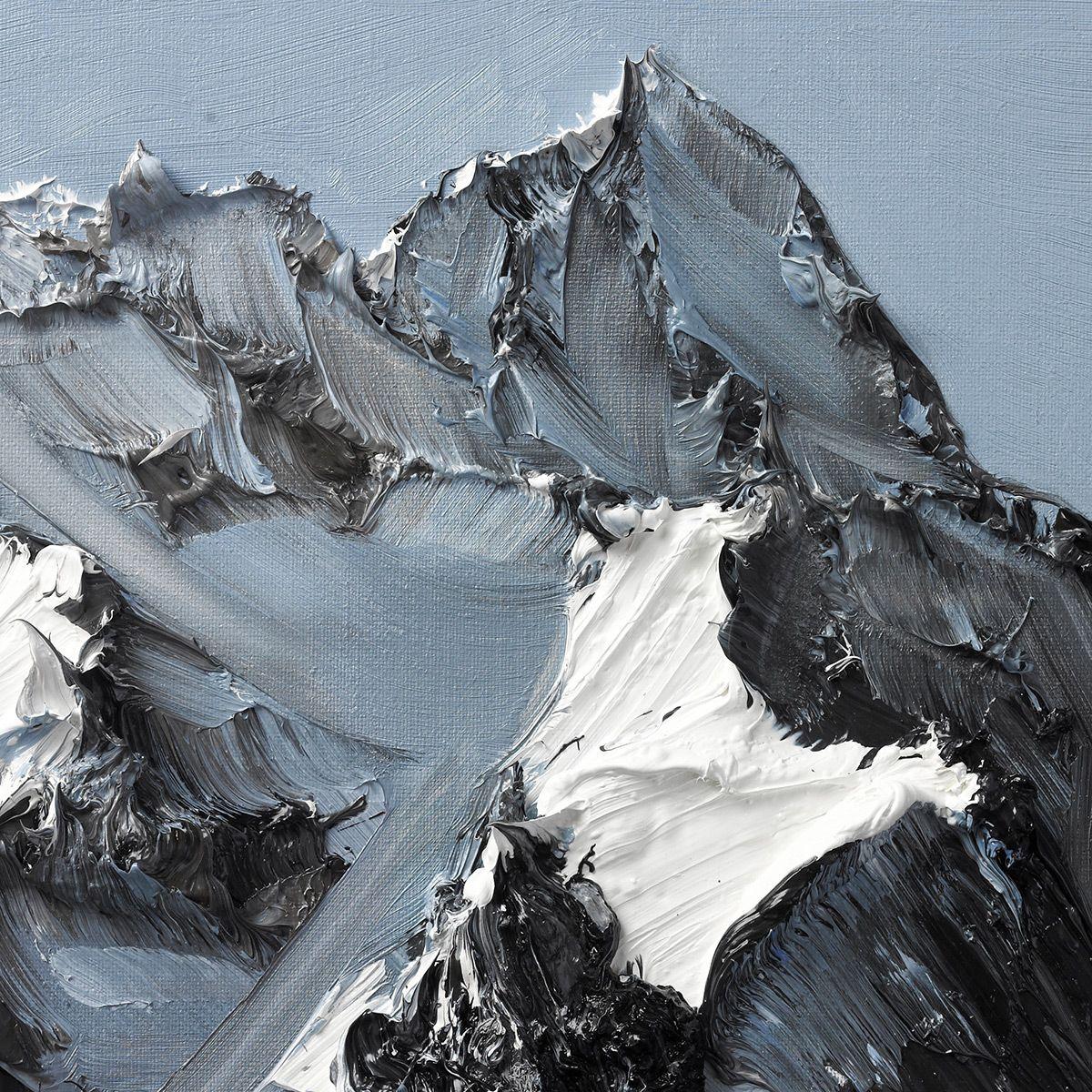 Величественные горы в картинах Конрада Джона Годли