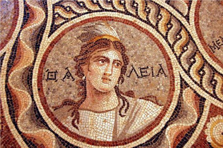 В турецком городе Зевгма раскопали невредимые древнегреческие мозаики