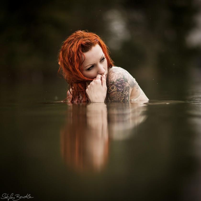 Фотографии красивых девушек с татуировками