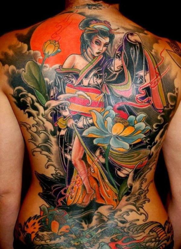 Geisha girl tattoos geisha girl tattoo meanings
