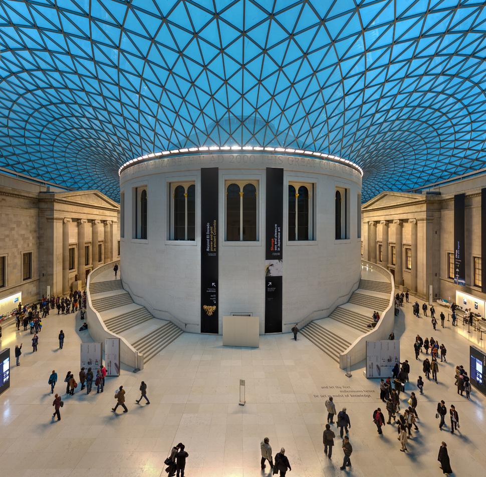 фразой британский музей в лондоне фото одно условий