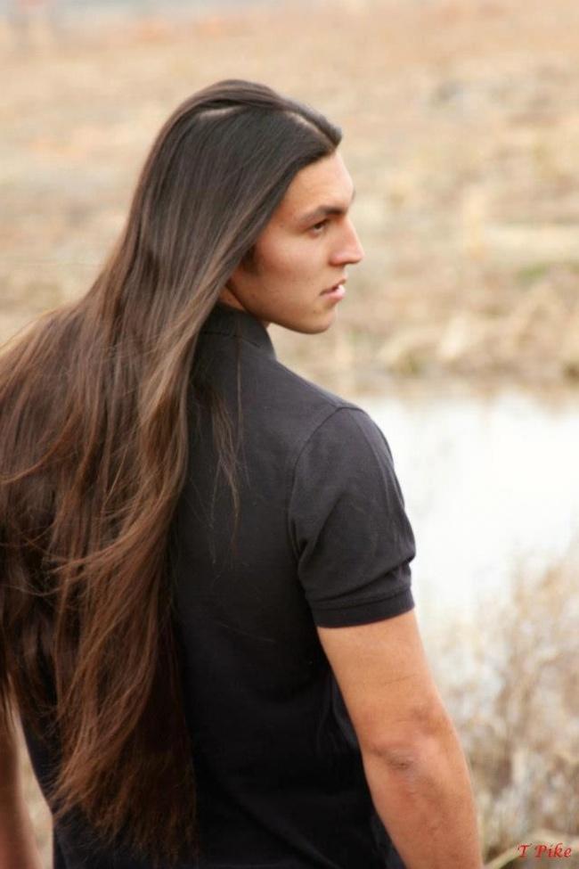 Длинные волосы у мужчин психология