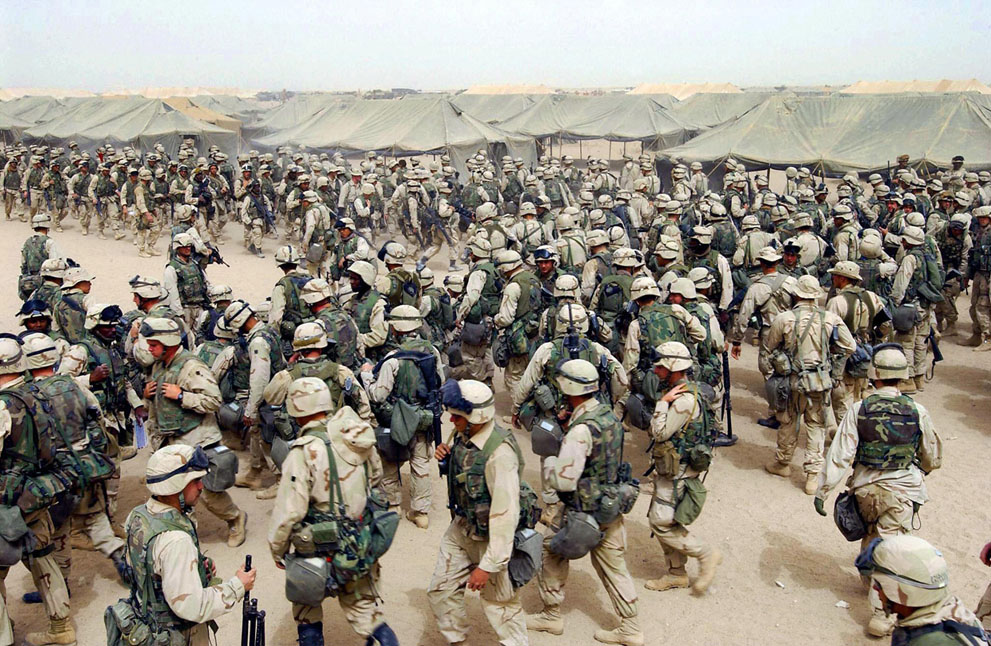 the background of the conflicts between the united states and iraq in 1990 The 2003 invasion led by the united states ended the a soccer match between iraq and saudi arabia was the first major game on iraqi soil since 1990.