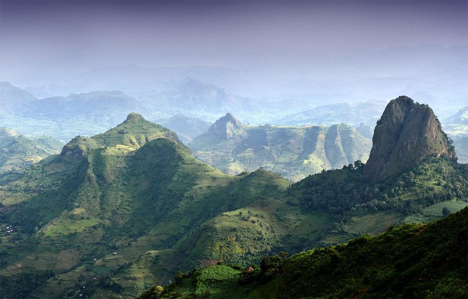 Необыкновенные фотографии Африканских пейзажей loverme