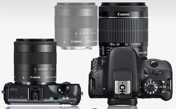 eos-m-and-sl1-with-18-55mm-lens-size-comparison