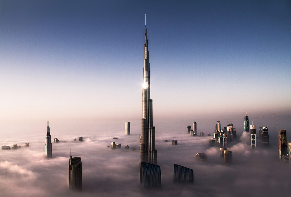 Дубай дома выше облаков лакшери эстейт дубай