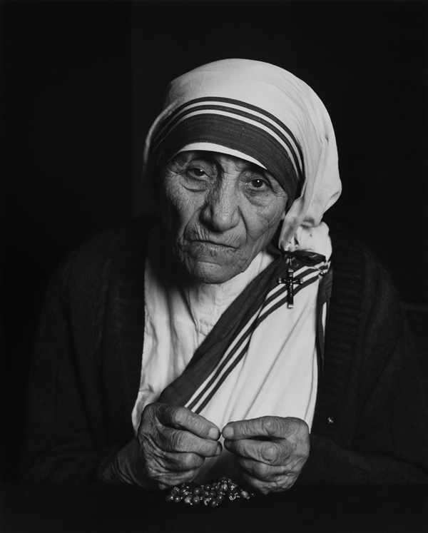 Mother Teresa - Portraits by Yousuf Karsh