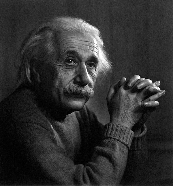 Albert Einstein - Portraits by Yousuf Karsh