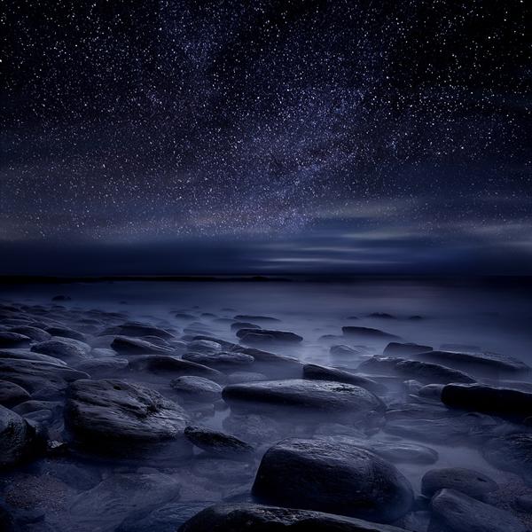 картинки синяя ночь ибизан