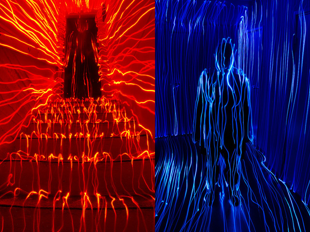 Topographical Light Paintings