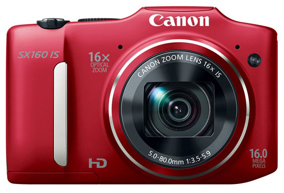 Canon PowerShot SX160 IS (Red)