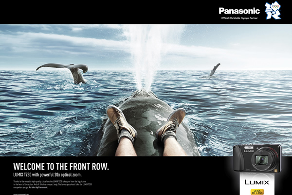 Panasonic:Welcome to a front row