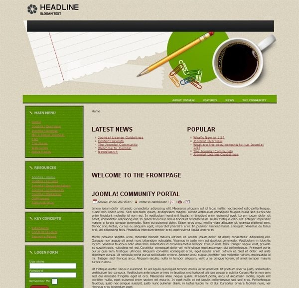 Students_education_joomla_template
